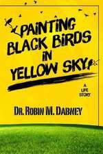 Painting Black Birds in Yellow Sky