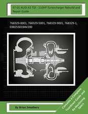 97-01 Audi A3 Tdi - 110hp Turbocharger Rebuild and Repair Guide