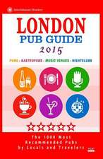 London Pub Guide 2015