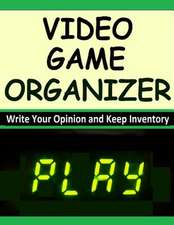 Video Game Organizer