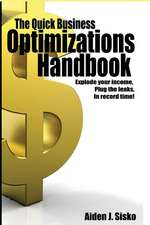 The Quick Business Optimizations Handbook