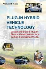 Plug-In Hybrid Vehicle Technology