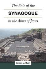 ROLE OF SYNAGOGUE IN AIMS OF JESUS HB