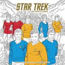 Star Trek: The Original Series Adult Coloring Book: Where No Man Has Gone Before