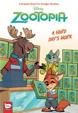 Disney Zootopia: Hard Day's Work (Younger Readers Graphic Novel)