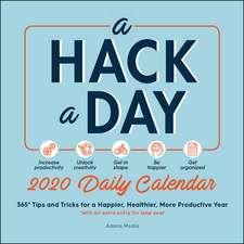 A Hack a Day 2020 Daily Calendar
