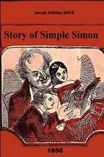 Story of Simple Simon 1850