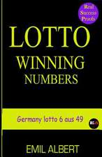 """LOTTO WINNING NUMBERS """"Germany lotto 6 aus 49"""""""