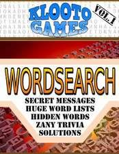 Klooto Games Wordsearch Volume I