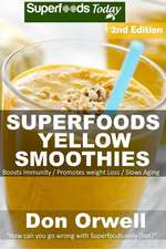 Superfoods Yellow Smoothies