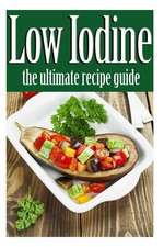 Low Iodine Recipes