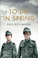 To Die in Spring