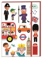 London Landmarks Notebook:  Over 250 Stickers!