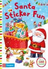 Santa Sticker Fun: With Over 400 Stickers