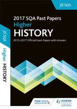 Higher History 2017-18 SQA Past Papers with Answers