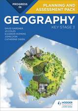 Progress in Geography: Key Stage 3 Planning and Assessment Pack