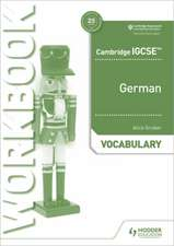 Cambridge Igcse(tm) German Vocabulary Workbook