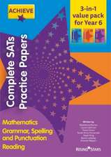 Achieve Complete SATs Practice Papers