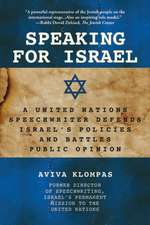 Speaking for Israel