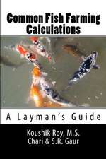 Common Fish Farming Calculations