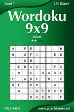 Wordoku 9x9 - Mittel - Band 7 - 276 Ratsel