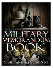 Military Memorandum Book