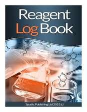 Reagent Log Book