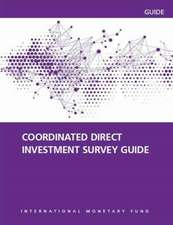 Coordinated Direct Investment Survey Guide 2015 (CDIS 2015)