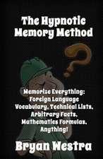 The Hypnotic Memory Method