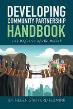 Developing Community Partnership Handbook