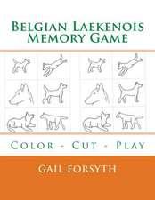 Belgian Laekenois Memory Game