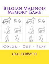 Belgian Malinois Memory Game