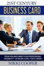 21st Century Business Card