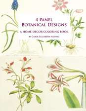 4 Panel Botanical Designs