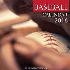Baseball Calendar 2016