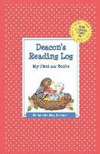 Deacon's Reading Log:  My First 200 Books (Gatst)