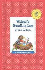 Wilson's Reading Log:  My First 200 Books (Gatst)
