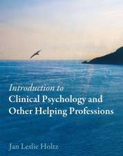 Introduction to Clinical Psychology and Other Helping Professions