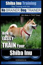 Shiba Inu Training Dog Training with the No Brainer Dog Trainer We Make It That Easy!