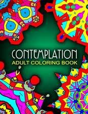 Contemplation Adult Coloring Books - Vol.7