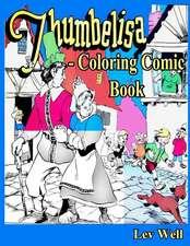 Thumbelisa - Coloring Comic Book