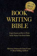 Book Writing Bible