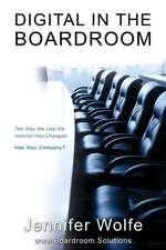 Digital in the Boardroom
