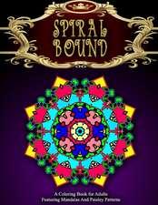 Spiral Bound Mandala Coloring Book - Vol.1