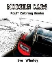 Modern Cars:  Car Coloring Book (Volume 2)