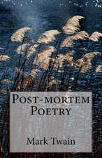 Post-Mortem Poetry