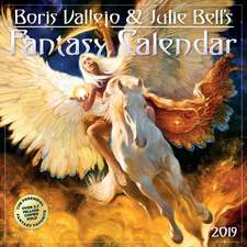 Boris Vallejo & Julie Bell's 2019 Fantasy Calendar