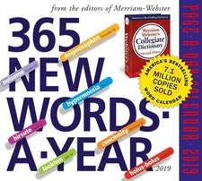 365 New Words-A-Year Page-A-Day Calendar 2019