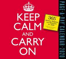 Keep Calm and Carry On 2020 Page-A-Day Calendar