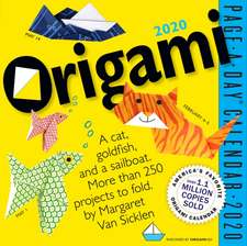 Origami 2020 Page-A-Day Calendar
